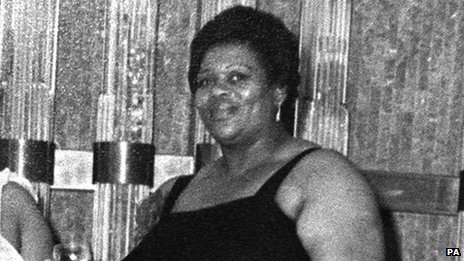 Cynthia Jarrett, who died while police officers were making a search of her home in Tottenham