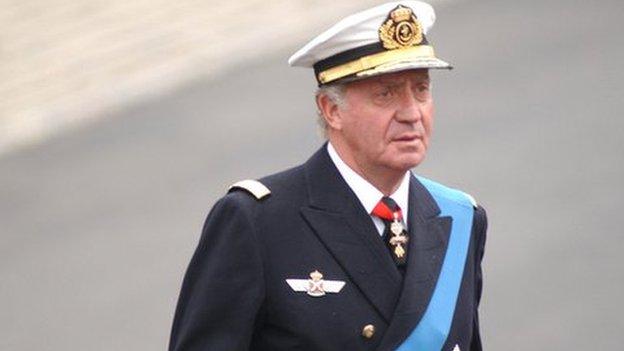 Juan Carlos, King of Spain