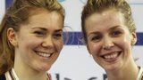 Jess Varnish and Becky James