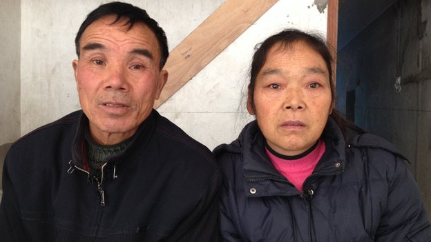 Lian Enqing's parents in Wenling, Zhejiang province