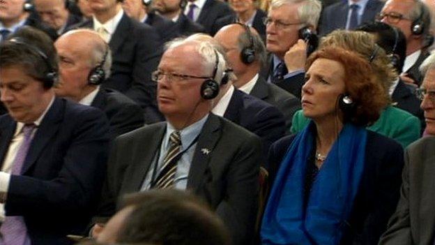 Merkel audience