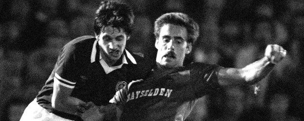 Gary Lineker and Mick McCarthy