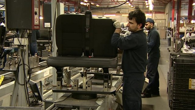 Car seat manufacture in Tipton
