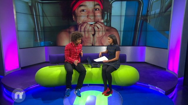 Radzi tells Newsround: ''It was unbelievable!'