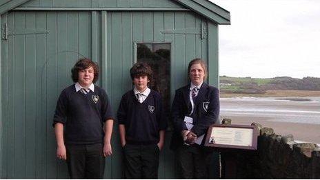 Castle School pupils