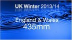 Wettest winter on record for England and Wales since 1766