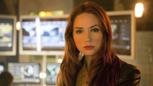 Karen Gillan as Amy Pond in Doctor Who