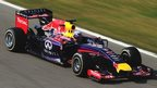 Daniel Ricciardo drives for Red Bull