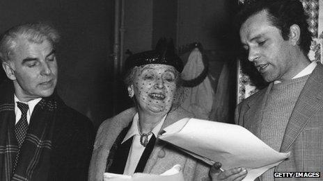 Emlyn Williams, Sybil Thorndike and Richard Burton