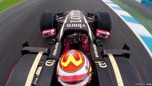 Lotus F1 Team car