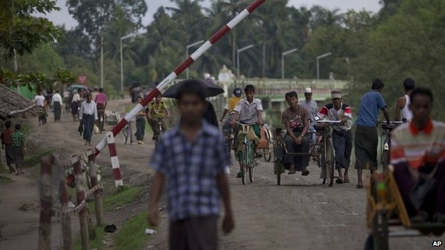 File photo: Rakhine state