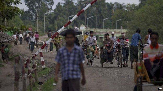 File photo: Rakhine state