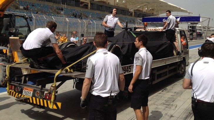Jenson Button's McLaren