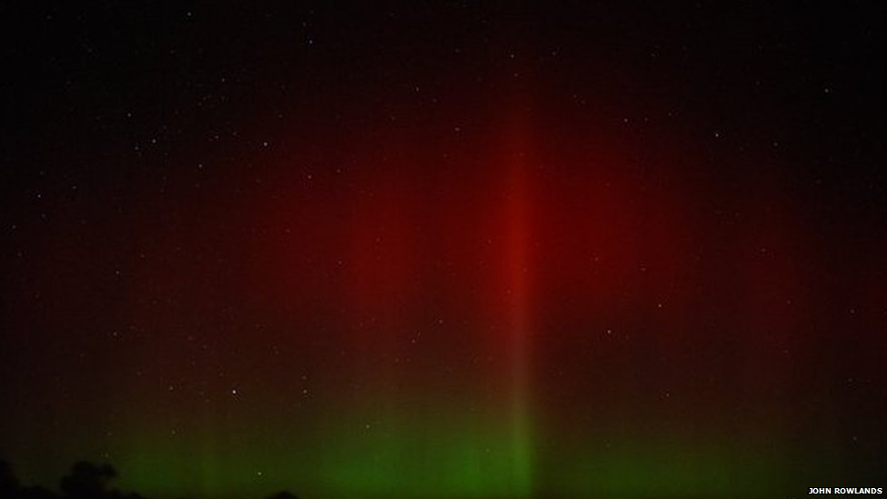 Northern Lights on Anglesey