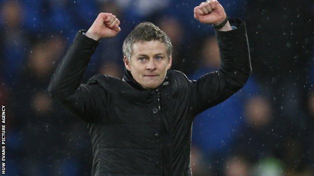 Cardiff manager Ole Gunnar Solskjaer