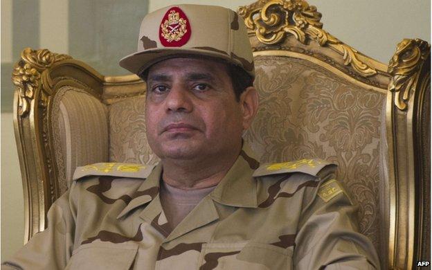 Field Marshal Abdul Fattah al-Sisi.