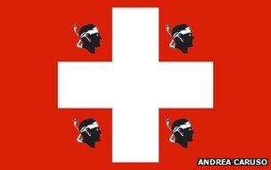 Proposed Canton Marittimo flag