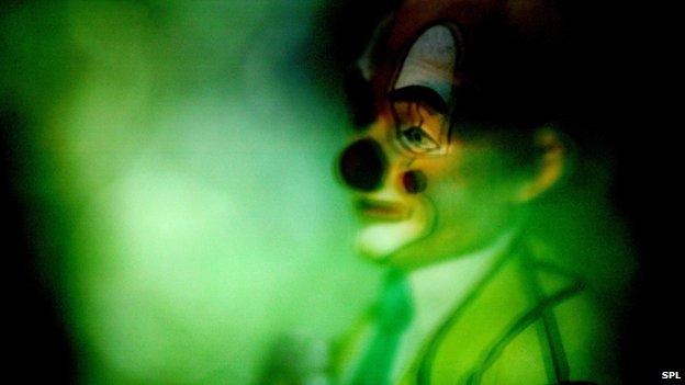 Nightmare of a clown