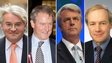 Andrew Mitchell, Owen Paterson, Andrew Lansley and Peter Lilley
