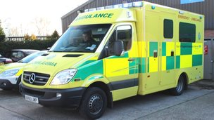 New EEAST ambulance