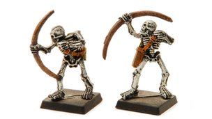 Skeleton D&D figures