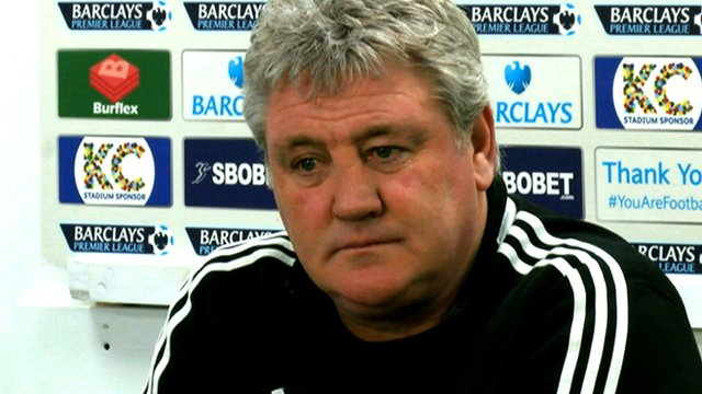 "Steve Bruce says new strikers Shane Long and Nikica Jelavic have made Hull ""a different animal"""