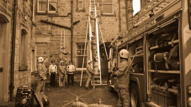 Alloa firefighters
