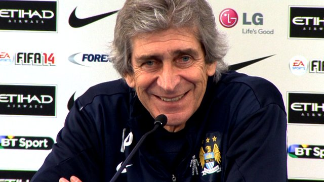 "Manuel Pellegrini admits it is ""not easy"" for him to select a team for the League Cup final against Sunderland."