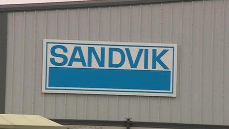 Sandvik in Derbyshire