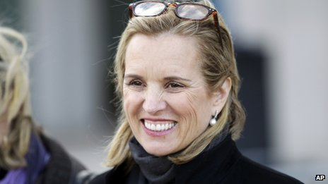 Kerry Kennedy appeared in White Plains, New York, on 26 February 2014