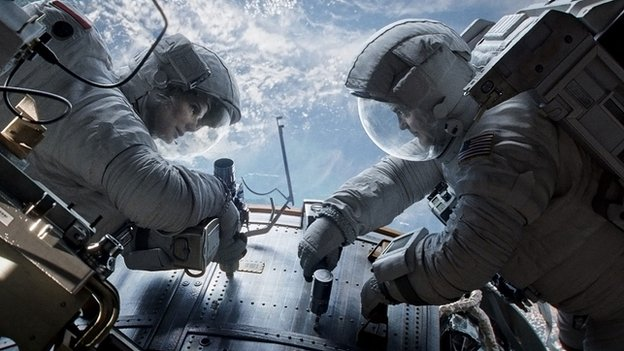 Gravity - Sandra Bullock, George Clooney