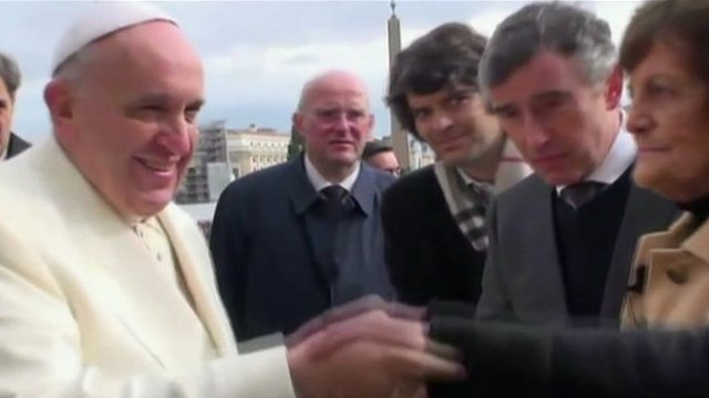 The Pope, Steve Coogan and Philomena