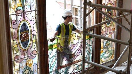 Workman fitting window