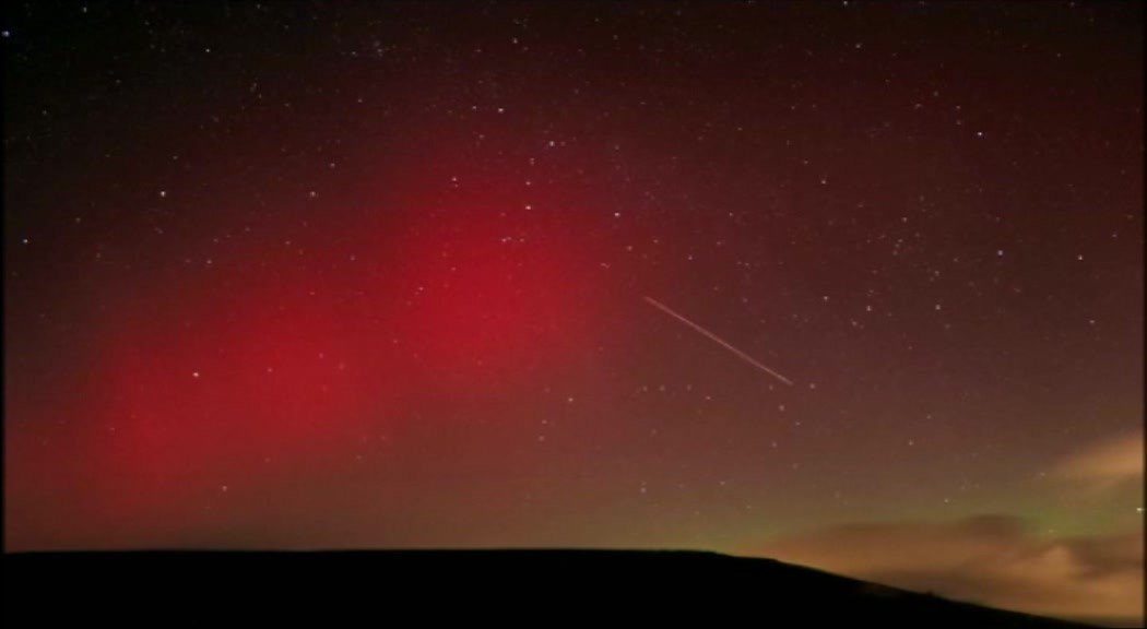 Northern Lights in Wales