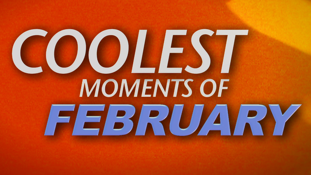 February's coolest moments