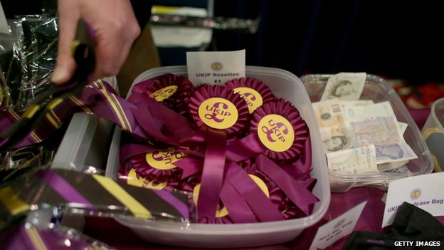 Merchandise on sale at the UKIP conference