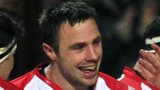 Tommy Bowe scored two tries on his return to action