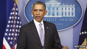 President Obama makes a statement on Ukraine