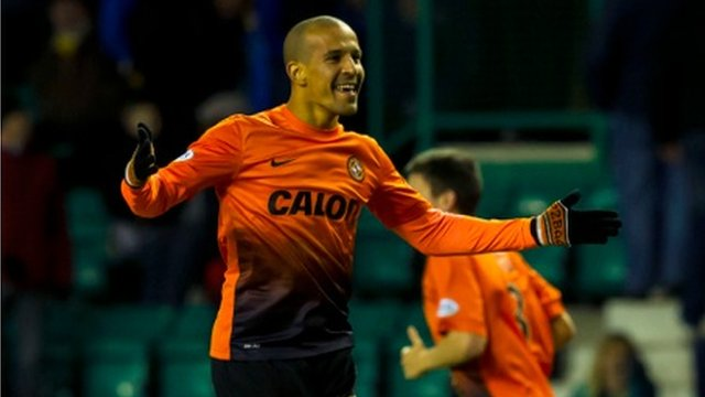 Farid El Algui scored for Dundee United