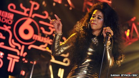 Kelis at the BBC 6 Music Festival