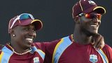 Dwayne Bravo and Darren Sammy