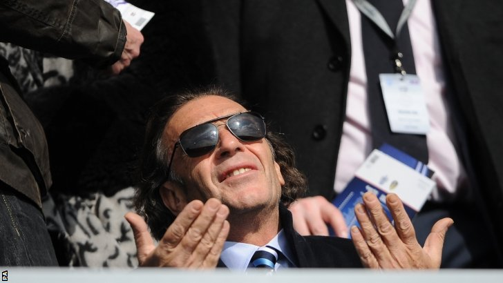 Massimo Cellino, who is close to taking over at Leeds