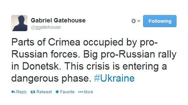 The new government's problems are not limited to Crimea
