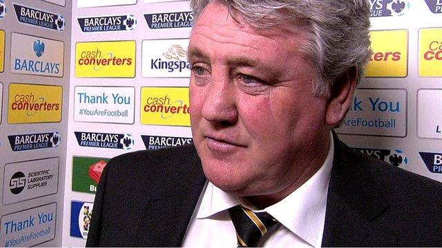 Steve Bruce accepts Alan Pardew's apology following his sending-off for headbutting Hull City's David Meyler.
