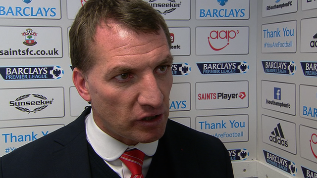 Liverpool were outstanding - Rodgers