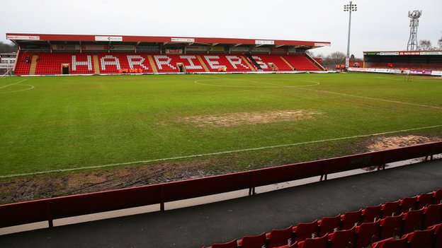 Aggborough, temporary home of Worcester City