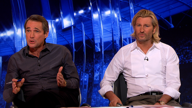 MOTD pundits Alan Hansen and Robbie Savage on Pardew headbutt