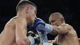 Vasyl Lomachenko (left) and Orlando Salido