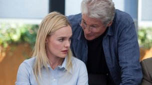 Kate Bosworth and Richard Gere in Movie 43