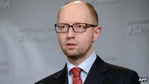 Arseniy Yatsenyuk (1 March 2014)